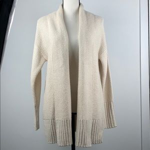 A New Day cream cable knit cardigan